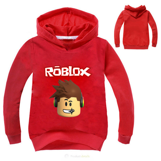 YLS 2-14Years Roblox Shirt Boys or Girls Hoodies and sweatshirts Pullover 2