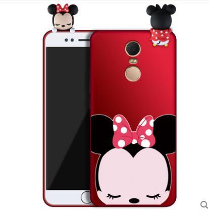 Xiaomi Redmi 5 Plus cas de silicium, mode de luxe série de lapin, anti-chute protection retour cas pour xiaomi redmi 5 cas couverture