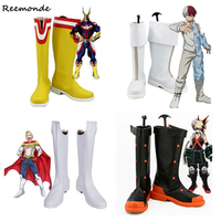 Boku No Hero Academia All Might Shoto Todoroki Bakugou Cosplay Shoes My Hero Academia Mirio Togata Boots Shoes Party For Man Boy