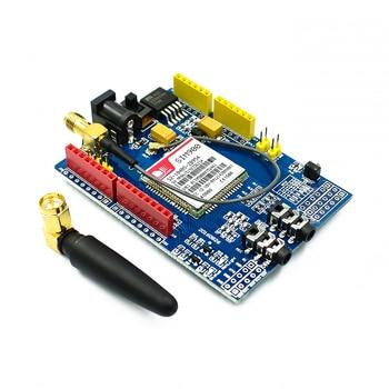 Плата разработки SIM900 GPRS/GSM, четырехдиапазонный модуль для Arduino