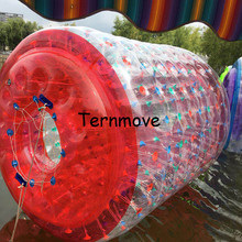 Вода палы оборудования водяного колеса, Гуляя трубки ролик воды ходьбе Rollering шар колесо для взрослых детей