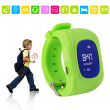 Q50 GPS Tracker Kids Smart Watch Support Calls SOS GPS LBS Positioning SIM Card for Children Kids