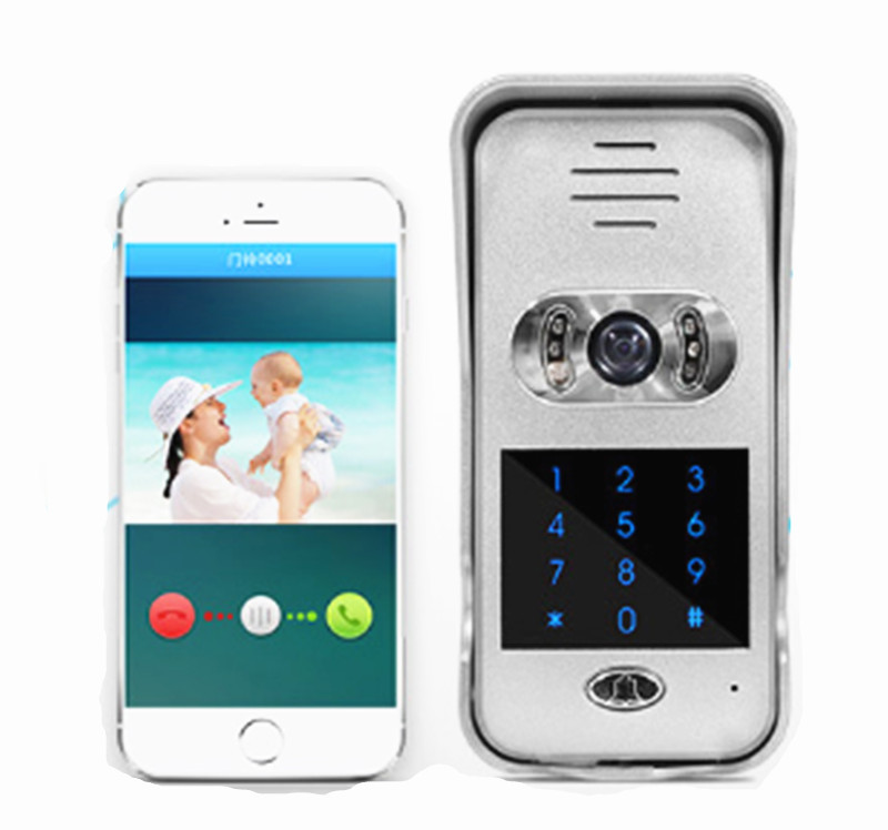 720P WIFI Doorbell Wireless Intercom System Door Access Control comfast ac200 orange os system full gigabit wifi control ac gateway routing wireless roaming wifi coverage project manager route