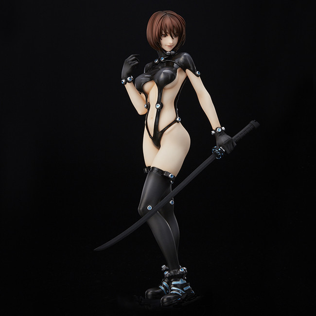 23cm Sword Ver Anime Gantz Shimohira reika Action Figure Toy Doll Brinquedos Figurals Collection Model Doll Gift