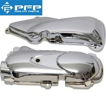 лучшая цена Motorcycle scooter modified parts plating Engine cover air filter cover For Honda TODAY AF61/AF62