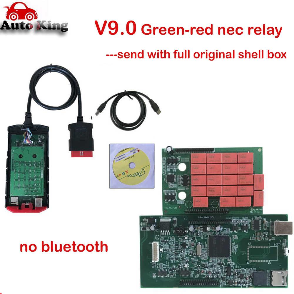 V9.0 Mới Đến! VD TCT Pro Plus Có Bluetooth OBD2 Công Cụ Chẩn Đoán Cho Xe Hơi Và Xe Tải VD Ds150e 3in1