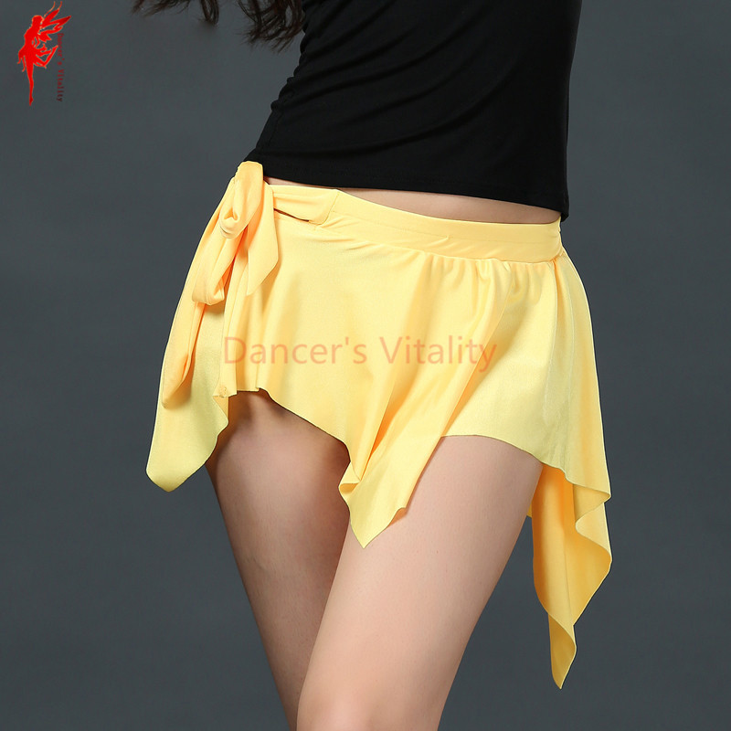 Sexy Women Belly Dance Clothes Spandex Irregular Belly Dance Skirt For Women Belly Dance Practice Skirt