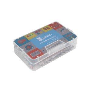 Image 5 - Keywish Điện Tử Thành Phần Cơ Sở Vui Vẻ Kit Đối Với Arduino Raspberry Pi Bó Với Breadboard Cáp Điện Trở, Tụ Điện, LED Giáo Dục
