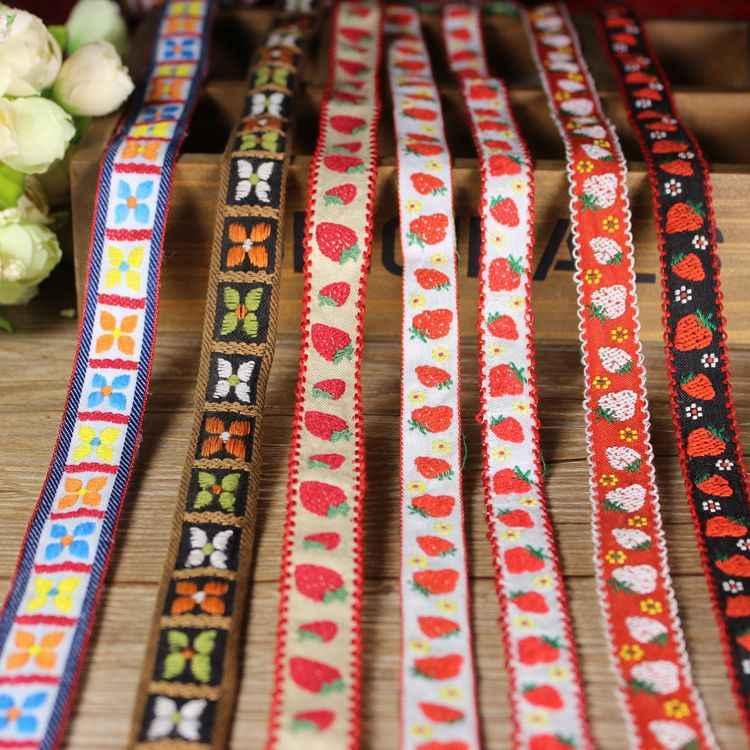Ruban ethnique Jacquard de 10 Yards | Ruban rétro, douanes rétro, accessoires pour vêtements brodés sur ordinateur, beaux rubans pour la couture, Sup