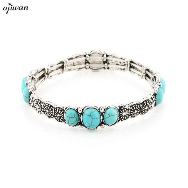 Indian Bracelet Native American Hippie Navajo Jewelry Vintage Gypsy Manchette Pulseiras Boho Cuff