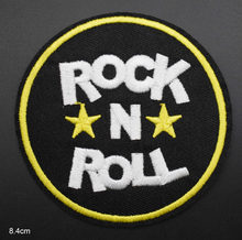 Rock N Roll Music Rock Michael Jackson Príncipe Music Band Iron On Bordados Roupas Patches Para Vestuário(China)