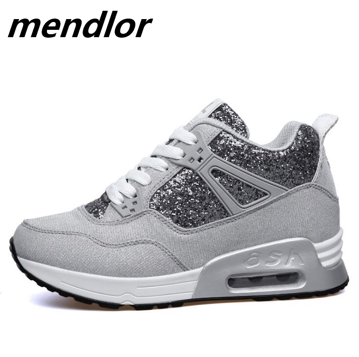 Fashion Women Vulcanized Shoes Autumn Women Sneakers Ladies Lace up Casual Shoes Breathable Walking Canvas Flat Shoes