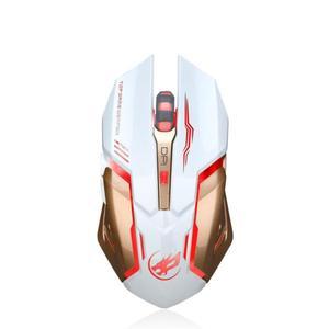 Image 4 - Wiederaufladbare T1 Drahtlose Silent LED Backlit USB Optische Ergonomische Gaming Maus LOL Gaming Maus Surfen Die Maus # ZC
