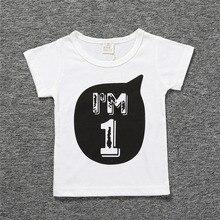 Hildren 1 2 3 4 Year Birthday T Shirts Party Costume Black