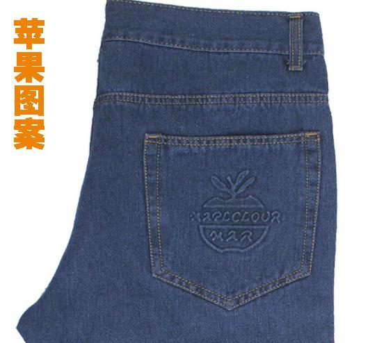 Мужские весенние, большие размеры, однотонные, прямые, длинные джинсы с карманами, мужские, зимние, большие размеры, повседневные хлопковые джинсы на молнии - Цвет: 2