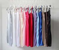 Nuevo vestido sin mangas de verano para mujer, tirantes finos, básico, para todas las combinaciones, de talla grande, sin mangas, para todas las combinaciones