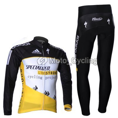 Free shipping!! 2011 NEW SPE** TEAM CYCLING LONG JERSEY+PANTS BIKE SETS CLOTHES SIZE:S--XXXL &Wholesale/Retail