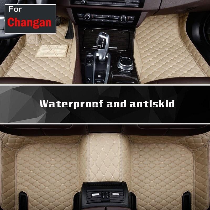 Tapis de sol de voiture tapis de sol sur mesure pour Changan Cs35 Cs75 Raeton Ev Cs15 Cs95 Linmax Cs55 Cs15ev Cc Style de voiture
