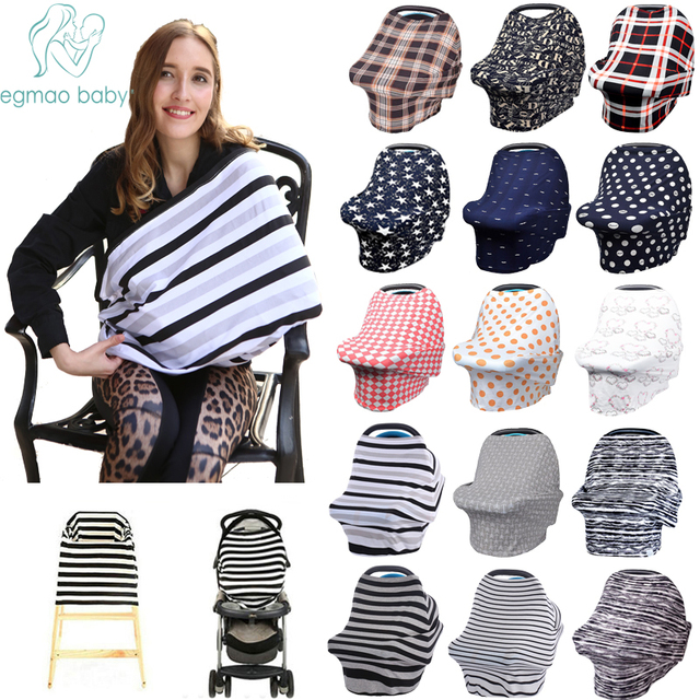 Baby Car Seat Cover Unisex Lightweight and Breathable Canopy 100% Cotton  Fits  sc 1 st  AliExpress.com & Baby Car Seat Cover Unisex Lightweight and Breathable Canopy 100 ...