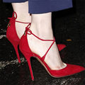 Sexy Cross straps Sandals High Heel Gladiator Women Sandal Boots Dress Party Summer Shoes Woman big size 40