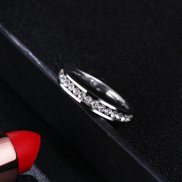 Женские кольца из нержавеющей стали cacana модные украшения