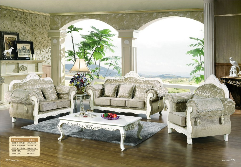 Chaise Armchair Hot Sale European Style Set Antique No