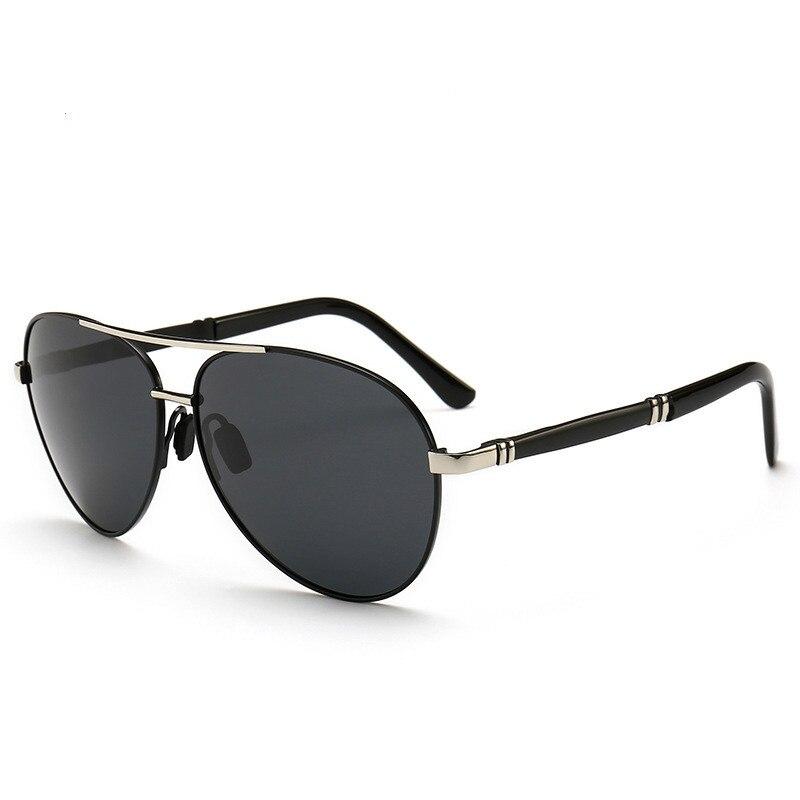 Ellen Buty Original Brand Design Sunglasses Men Polarized Oval Alloy Male Sun Glasses Driver Driving Mirrors Oversized Glasses