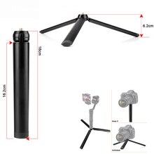 Zhiyun Pergear aluminiowy stojak na stół Mini statyw noga dla dji osmo 3 akcja gładka 4 vilta m pro gimbal Selfie Stick wysuwany Monopod
