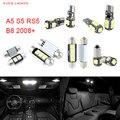 12 unids LED Canbus Luces Interiores Paquete Kit Para Audi A5 S5 RS5 B8 (2008 +)