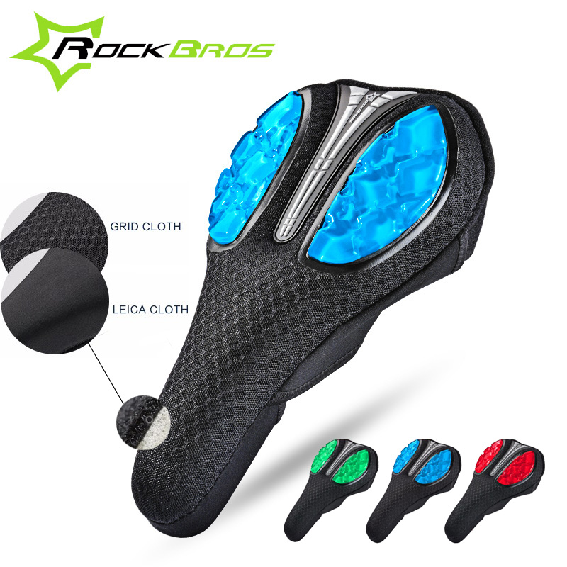 ROCKBROS Sykkel Saddle Cover Flytende Silicon Bike Saddle Cover Sykling Baksete Matte Komfortabelt pute Mykt sete for MTB Road