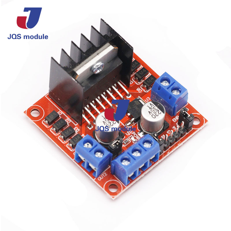 5pcs Special promotions L298N motor driver board module L298 for arduino stepper motor smart car robot 6ch servo control board with l298n motor driver module ps2 wireless control handle for rc smart tracked robot car diy platform