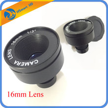 New Hot High Definition F1.6 M12 x 0.5 1/3 inch 16mm Selectable Focal IR Lens For Security CCTV IR Camera CCTV Accessories