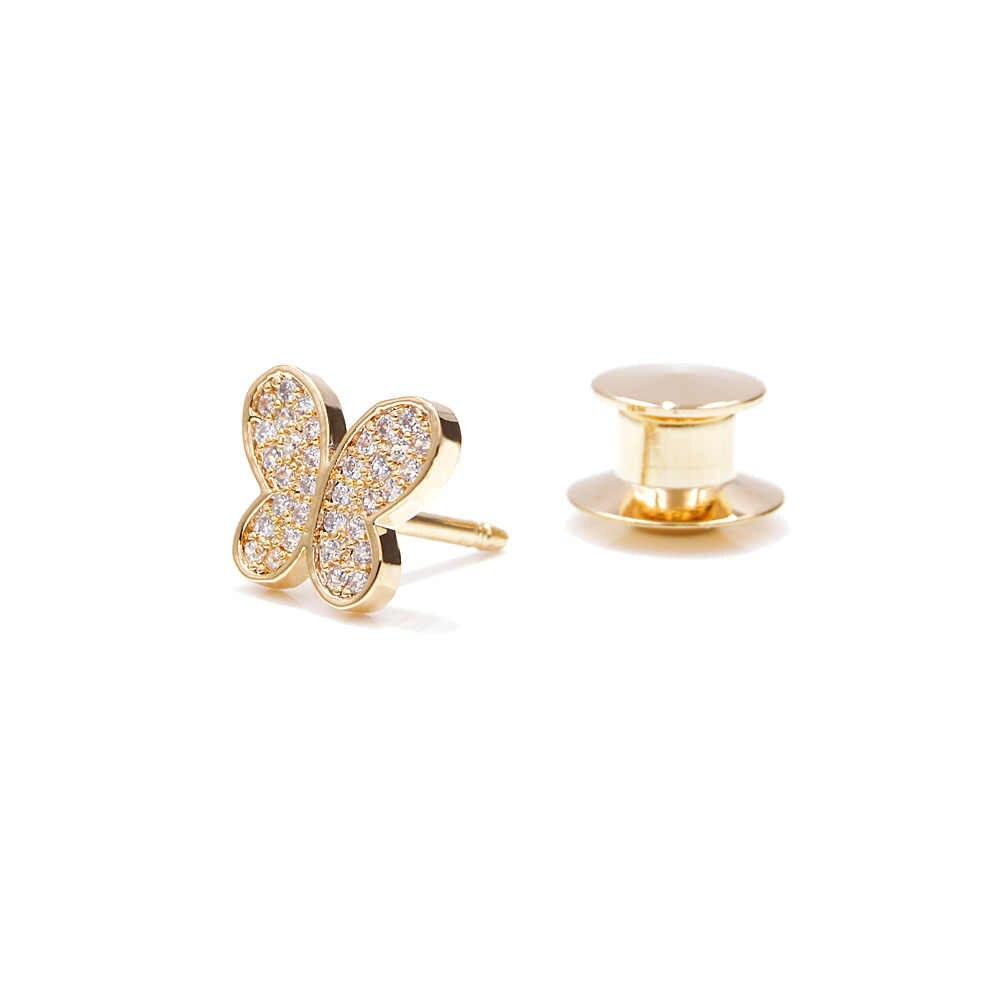 CINDY XIANG 2 Colori scegliere zircone cubico del collare della farfalla spille per le donne dei monili di rame insetto pin spilla moda regalo tuta