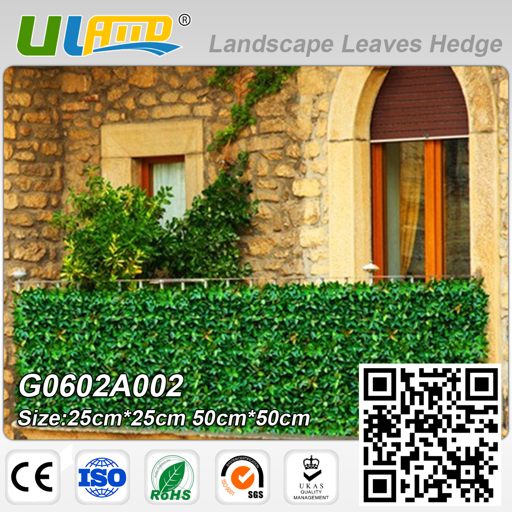 High quality garden fence plastic buy cheap garden fence plastic uland 6pcs 50x50cm artificial fence panels plastic garden fence for privacy screen outdoor garden decoration g0602a002c baanklon Image collections