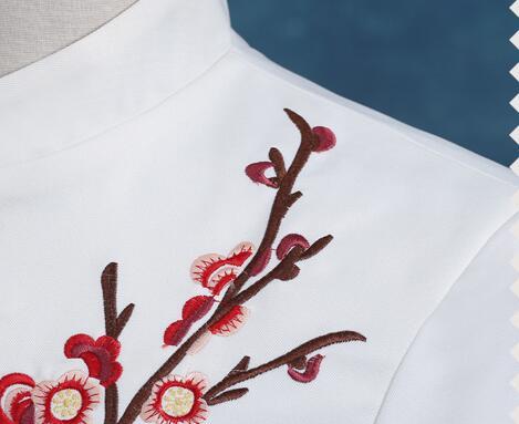 4713706e56 Bordado Etapa Cantante De Boda Vestido Novio Traje 2019 Blanco Ropa Formal  Corbata Trajes Con Hombres Collar Pantalones F4q4xwnR