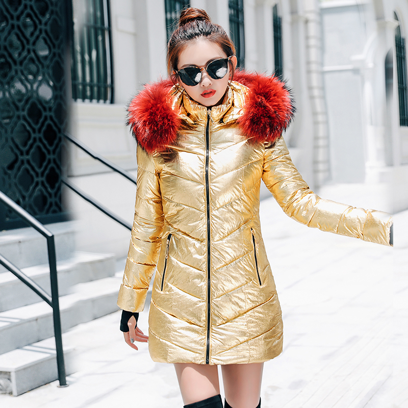 Jacket Women Winter Coat Wadded Long Parkas Thickening Warm Down Cotton Female