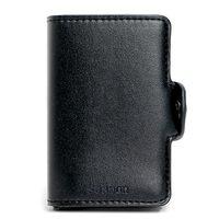 Cüzdan PU deri kart sahibinin kart koruma (Siyah)