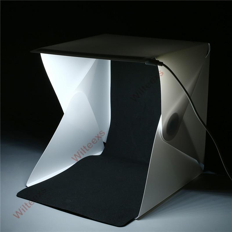 WILTEEXS Mini Photo Studio Box Telón de fondo de fotografía - Cámara y foto - foto 6