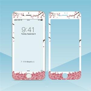 Image 5 - Hoa Đáng Yêu Kính Cường Lực Cho iPhone XS Max XR 6S 8 7Plus Tấm Bảo Vệ Màn Hình Viền Mềm Màng Bảo Vệ cho Iphone 11 Pro Max
