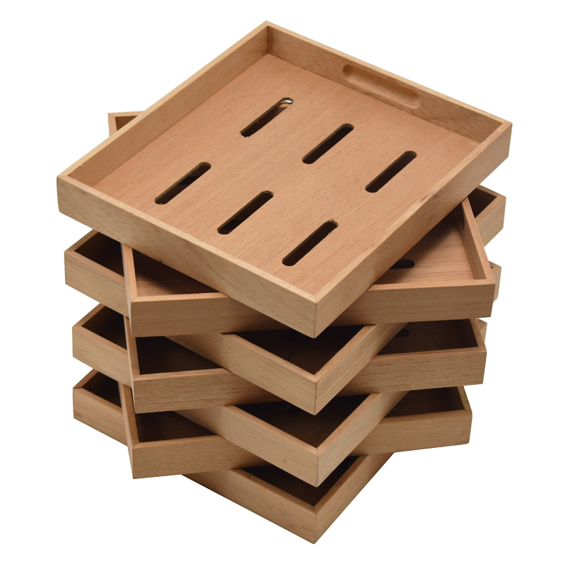 Cedar Wood Humidor Tray Accessories 1 Pc Solid Wood Tray For Cigar Box Humidor Accessory Tools