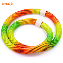 Colorful adult hula hoop slimming abdomen thin waist women's drawing circle fitness equipment