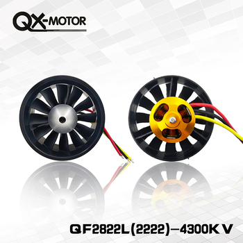 цена на 64mm duct fan with 12 Blades+4300kv Motor Spindle-3mm motor  for jet RC 64 EDF For RC Airplane
