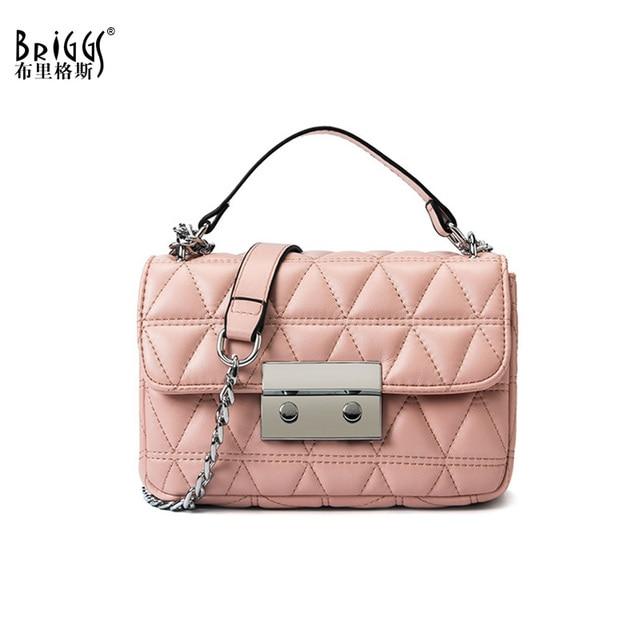 3632393bc Melhor compra BRIGGS Moda PU Mulheres Bolsa de Couro Bolsas De Grife ...