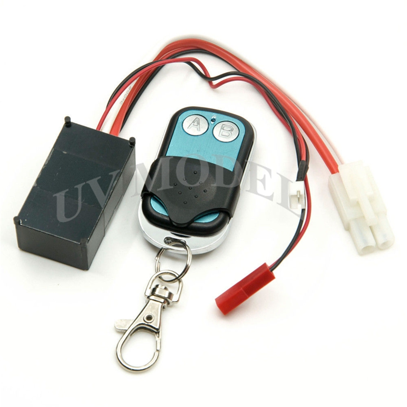 Automatic Crawler Winch Control Wireless Remote Receiver 1:10 Car Truck Off Road High Quality