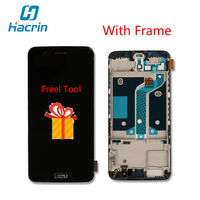 Oneplus 5 LCD Display With Frame Touch Screen 100 New Digitizer Screen Glass Panel Accessory For