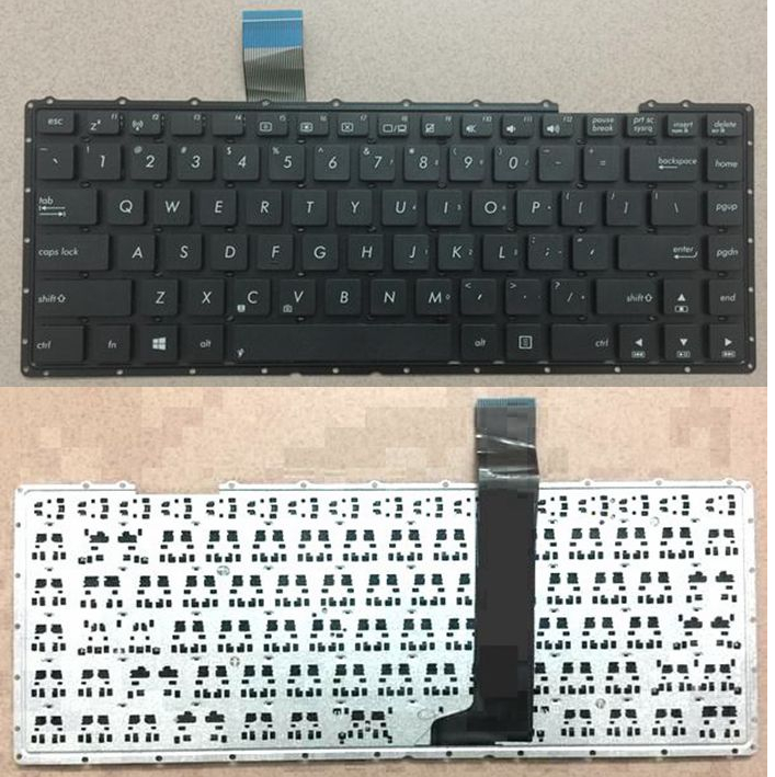 US  New Replacement For ASUS Y481C S400C X402 S46C A46 Keyboard Black English  Layout