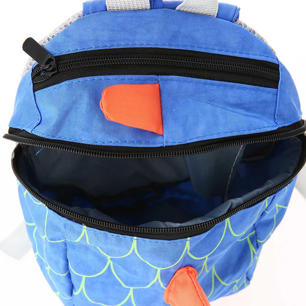 Дети мультфильм школьные сумки нейлон милый динозавр рюкзак дети детский сад ранцы Плюшевые игрушки для малышей подарок на день рождения