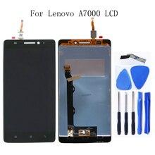 레노버 A7000 100% 테스트 LCD 액정 디스플레이 디지타이저 부품 레노버 A7000 디스플레이 교체 + 무료 도구