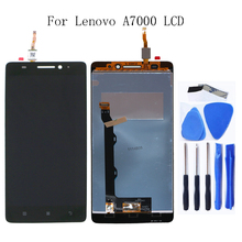 For Lenovo A7000 100% tested new LCD liquid crystal display digitizer component for Lenovo A7000 display replacement+Free tool