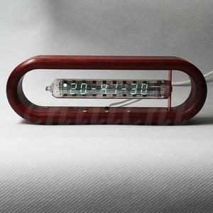 Image 4 - Time Capsule IV18 Fluorescent Tube Clock Electronic Tube Clock Table Clock Tomato Clock WIFI Network Clock
